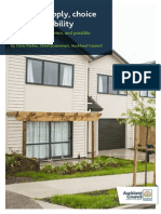 Housing Supply Choice and Affordability Report