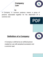 Company LAW (Completed)