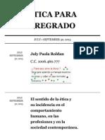 Padlet - Etica Para Pregrado