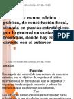 La Actividad Aduanera en El Peru