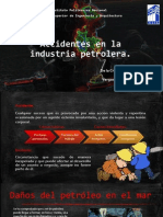 Accidentes de La Industria Petrolera