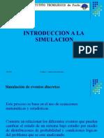Introduccion a La Simulacion
