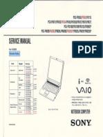 Sony Vaio Notebook Con Diagramas