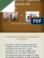 La Conquista Española y Portuguesa de América