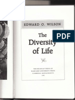 EO Wilson From the Diversity of Life