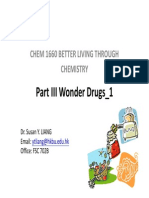 CHEM1660 Wonder Drugs 1