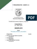 Prorrateo Primario y Secundario -Final