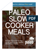 Slow Cooker Paleo Meals