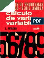 Cálculo de Varias Variables (L.marder)