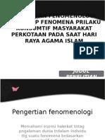 fenomenologi kualitatif