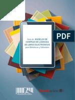 Guía de Modelos de Compra de Licencias de eBooks Para Bibliotecas de Bookwire y Dosdoce