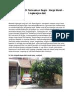 Rumah Dijual Di Pamoyanan Bogor - Harga Murah - Lingkungan Asri - www.rumahku.com