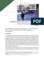 A Experiencia de Reabilitação Urbana No GTL de Guimarães