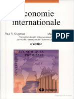 Economie InternatioÉconomie internationale Broché – 24 février 2012 de Paul Krugman  (Auteur), Maurice Obstfeld nale 1