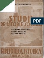 Constantin Giurescu - Studii de Istorie Sociala