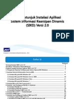 Buku Petunjuk Instalasi SIKD Versi 2.0