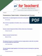 _Quotes_ for Teachers_ Perseverance, Determination, Achievement and Success.pdf