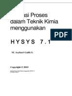 Modul HYSYS 7-1 tambahan - Logical Operation=Individual Adjust