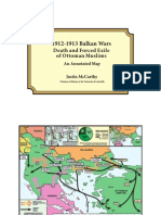 Balkan Wars Map