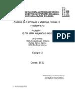 Sulfato de Quinina Fluorometria