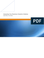 Assessing Your Business Analytics Initiatives