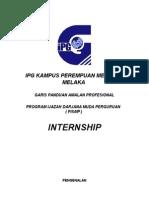 Garis Panduan Amalan Profesional Pismp Internship