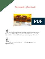 Mini Projet Thermomètre à Base de Pic 16F877