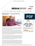 Keshav Padaruth Young and Achieving professional