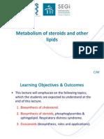 Steroids & Other Lipids 2014