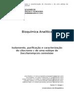 Relatório Bioquímica Analítica - Versão Final