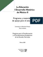 La Educación en El Desarrollo Histórico De