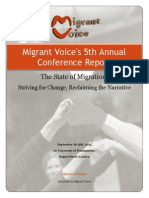 Migrant Voice conference Report 2015