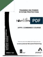 Training _ Power System Protection _AREVA