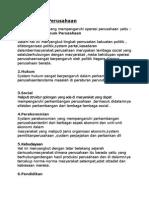 Lingkungan Perusahaan Dalam Sistem Sosial