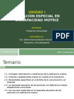 Necesidades Educativas Especiales en Discapacidad Motriz. Dra. Edith Arianne Estrada Chavarría