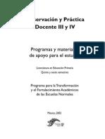 Observación y Práctica Docente III y IV