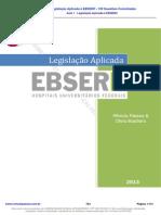 Aula 1 - Legislação Aplicada à EBSERH