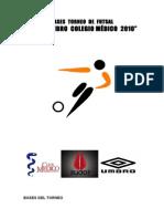 Bases Torneo Futsal Umbro2010