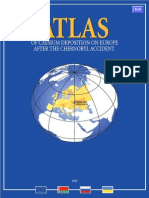 Atlas of Caesium Deposition on Europe After the Chernobyl Accident by European Communities 928283140x