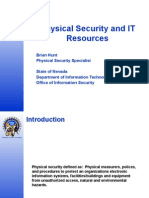 Physical Security and IT Resources