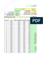 Mortgage Amortization With Paydown