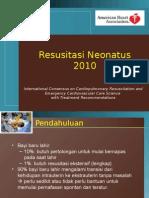 Slide Resusitasi Neonatus