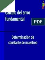 005-Constante de Muestreo