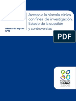 AAFF Informe Experto DatosHistoria Clínicas WEB