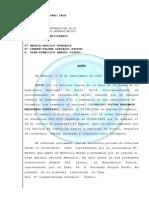 Auto de extradición a Colombia de Víctor Maldonado