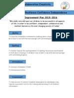 School Improvement Plan 2015