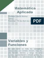 Variables y Funciones