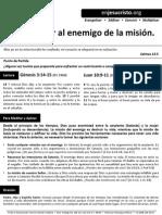 HCV - Como vencer al enemigo de la misión - 27Sep2015