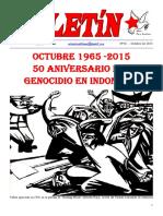 Boletin del Ateneo Paz y Socialismo de octubre de 2015