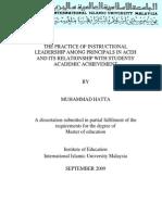 instructional leadership vs academic achievement.pdf